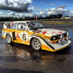 Enjoyed having these rather special Audi Sport Quattro's on a private trackday…