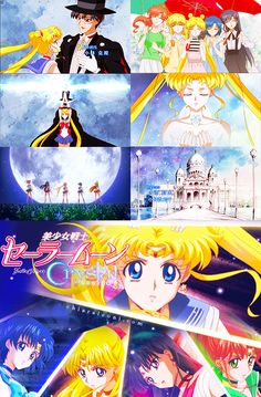 Sailor Moon Crystal - Collage Opening