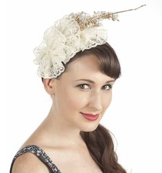 Knowing you, you'll want to stand out, if even a little bit, at the next wedding you attend. One easy way to do this? Construct your own fascinator! Armed