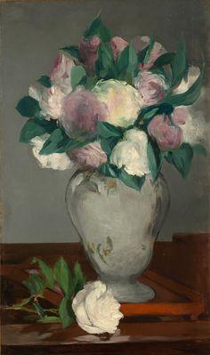Edouard Manet / Peonies, circa 1864-65