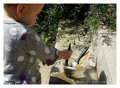 Toddler Play with Water