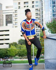 Monday not over yet right?....... #MCM #modelcrush #internationalmodel #melanin #shoutout to #designer @chimzifashion for the #africanprint #bomberjacket and #photographer @theonlyblackqueen #gq #fashion #runway  #charlotte #atlanta #columbiasc #philly #LA #charleston #london #miami #newyork #nyfw #dmv #latepost #africanamericanmodel