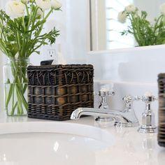 Плетение из газет Storage Baskets, Bathtub, Vanity, Bathroom, Standing Bath, Dressing Tables, Washroom, Bathtubs, Powder Room