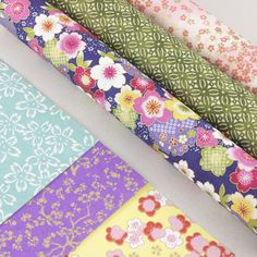 Selection of Artcuts Japanese Chiyogami Papers for card making, origami and your creative projects. Wooden Shapes, Craft Materials, Craft Gifts, Floral Tie, Origami, Card Making, Paper, Creative, Projects