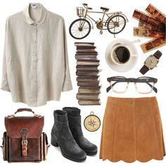 """""""More vintage things"""" by hanaglatison on Polyvore"""