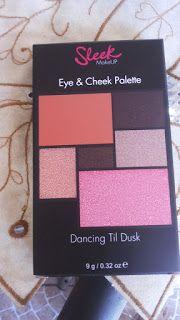 Beleza e etc..: Paleta de sombras e blushes Sleek MakeUP- Dancing ...