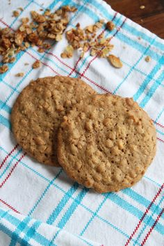 Granola Cookies - super chewy and magically delicious! from @stephiecooks