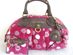 Juicy Couture Purse with Wallet