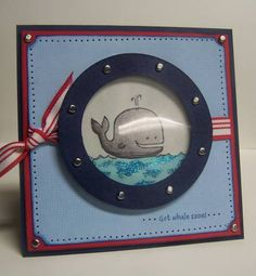 WT154 Get Whale Soon! by Kharmagirl - Cards and Paper Crafts at Splitcoaststampers