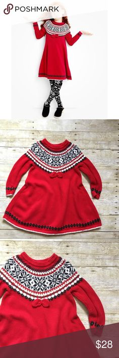 Girls Fairest Isle Sweater Dress by Hanna Andersson | Hanna ...