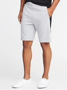 Old Navy Go-Dry Double-Knit Performance Shorts for Men - inseam Old Navy Men, Shop Old Navy, Fashion Boots, Fashion Fall, Womens Fashion, Discount Clothing, Mens Activewear, Double Knitting, Active Wear