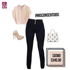Si vas con tus amigas a tomar unos drinks en una terraza, este #Outfit es ideal para sobresalir, verte muy interesante y sexy.  #ParisJeans #Mujer #Hermosa #Tips #Moda #Tendecia  www.paris-jeans.com