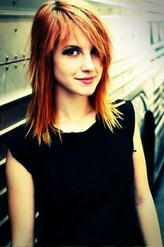 Hayley Williams  Cut and color. For sure my next style.