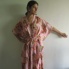 Buttoned Kaftan made from CC5 Fabric Pattern