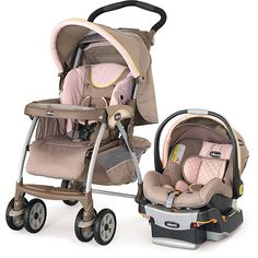 Love this travel system. The color combo is great! Thinking this might be a good second carseat for daddy's truck!