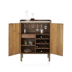 Cantina Bar Cabinet | Crate and Barrel