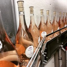 2014 Gard Grand Klasse Reserve Rose coming off the bottling line.
