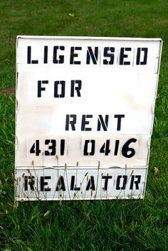 Ligensed Realator – Seriously?