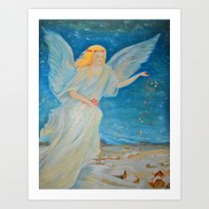 Collect your choice of gallery quality Giclée, or fine art prints custom trimmed by hand in a variety of sizes with a white border for framing. Energy Symbols, Fine Art Prints, Framed Prints, My Guardian Angel, Wall Art For Sale, Before Christmas, Love Art, Icon Design, Art For Kids