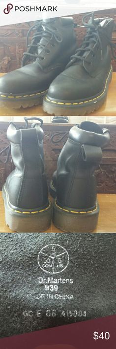 Dr Martens 939 Like new, not even broken in yet.  Fit true to size.  UK 5 US 7. Dr. Martens Shoes Ankle Boots & Booties