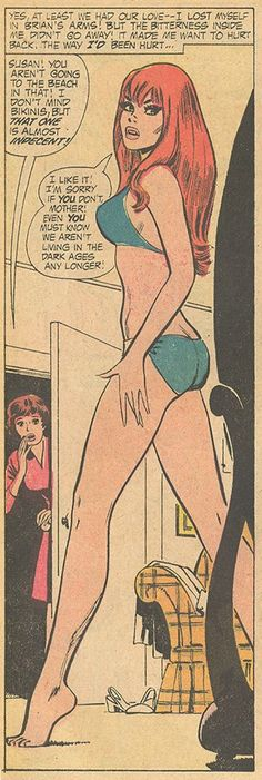 """From """"I'm Not Your Little Girl Anymore"""" - Young Love #92 (February 1972) Pencils: Jay Scott Pike, Inks: Vince Colletta"""