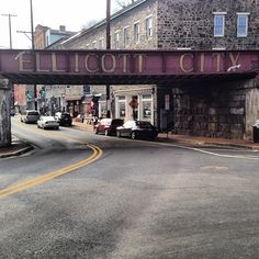 Historic Ellicott City in Ellicott City, MD