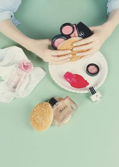 Prop Styling. Product Styling and Photography. Makeup product styling and photography
