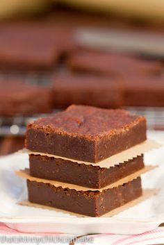 Fudgy One-Bowl Brownies