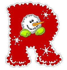 *✿**✿*R*✿** Christmas Alphabet, Christmas Clipart, Christmas Printables, Christmas Themes, Christmas Crafts, Alphabet Letters Design, Alphabet And Numbers, Letter Art, Make A Flake