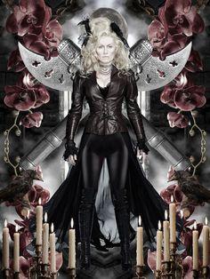 """Victoria Smurfit as Lady Jayne Wetherby -- Victoria Smurfit as Lady Jayne Wetherby in NBC's """"Dracula."""""""