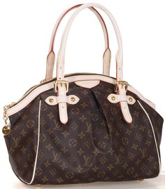 My favorite purse this season... Louis Vuitton tivoli gm