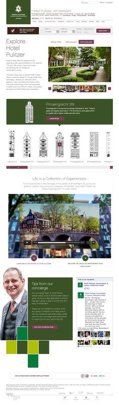 Explore Hotel Pulitzer by Peter Osmenda, via Behance