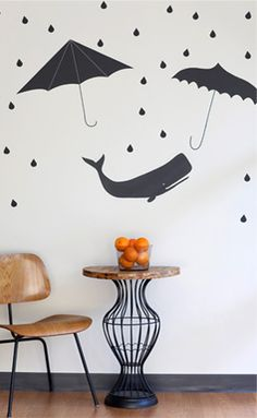 Custom wallpaper and wall decals from Spoonflower allow you to personalize any room in the house in a way that's never been possible until now.