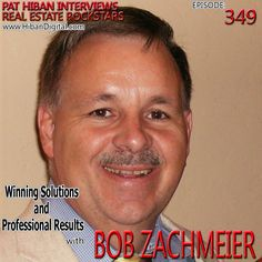 Bob Zachmeier walked away from his high-paying Defense Electronics job to become a real estate broker. Within four years, he was the top-producing agent in Tucson, AZ, selling over 600 homes per year... #realestate #podcast #pathiban #hibandigital #hibangroup #HIBAN #bobzach #realestatesales #realestateagent #realestateagents #selling #sales #sell #salespeople #salesperson