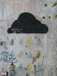 [Street Art in Valence] pluie arc-en-ciel