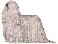 Known for its dignity, strength and courage, the Komondor is generally reserved and serious with strangers but demonstrative with those he loves.