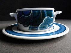 """saucer annees 70 4x Villeroy /& Boch Tee Tasse  """"Izmir"""" 70s set of tea cup"""