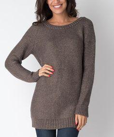 Look what I found on #zulily! Gray Ana Zip-Up Sweater - Women #zulilyfinds