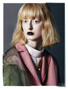 Strange Beauties in Vogue.it with Laura Hagested - Fashion Editorial | Magazines | The FMD #lovefmd