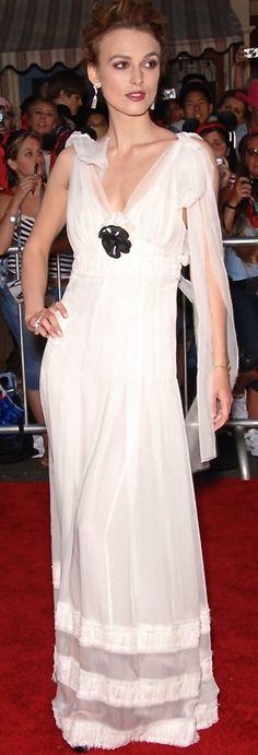 Keira Knightley in Chanel.