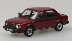 Abrex 1:43 Skoda 120 Diecast Model Car 143S702BJ This Skoda 120 L (1984) Diecast Model Car is Apollo Red and has working wheels and also comes in a display case. It is made by Abrex and is 1:43 scale (approx. 9cm / 3.5in long). #Abrex #ModelCar #Skoda