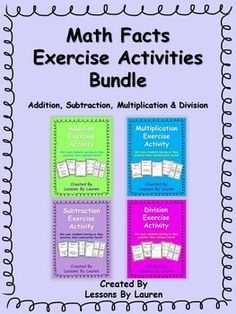 Have your students practice their ADDITION, SUBTRACTION, MULTIPLICATION, and…