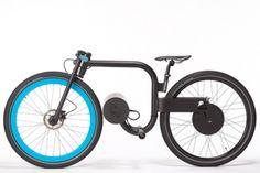 Elektrische fiets met 1 pk