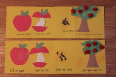 Bee Crafty Kids is live!  Stop by and see our cute Apple Life Cycle Craft and link up your own fun idea for kids!