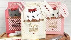 Mama Elephant January 2021 Stampede Blog Hop + Giveaway (Apron Treat Bags & Card)