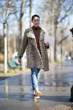 Pin for Later: See the Best Street Style From All of Paris Fashion Week Day 3 Rachael Wang