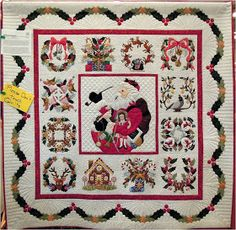 Quilt Inspiration: 'Tis the Season: Baltimore Christmas and Anita's Christmas Quilt