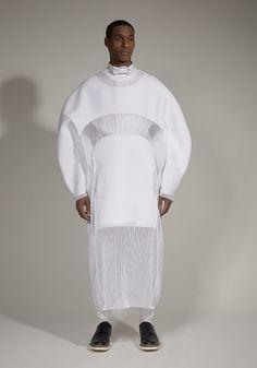 Sculptural Fashion with circular silhouette; innovative fashion design // Mai-Gidah Spring 2014