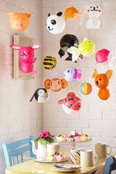 Japanse Papieren Ballonnen: impressie