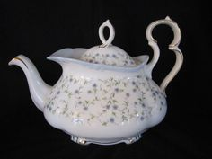 Royal Albert Caroline Teapot with Lid Victoria Shape | eBay
